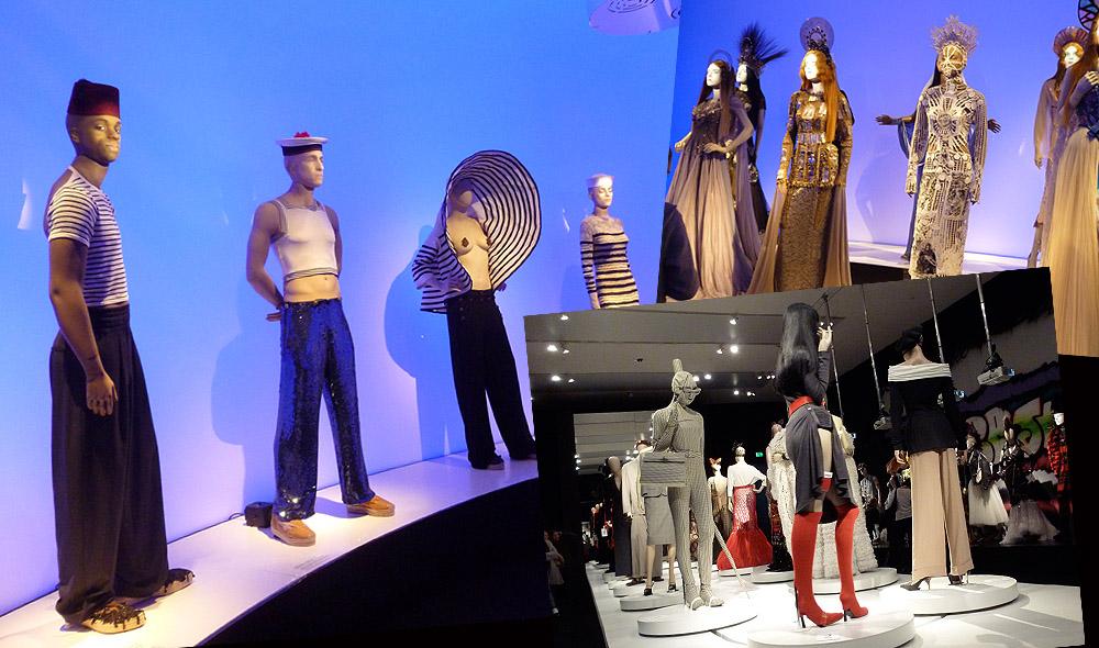 Besuch der Jean Paul Gaultier Ausstellung in München