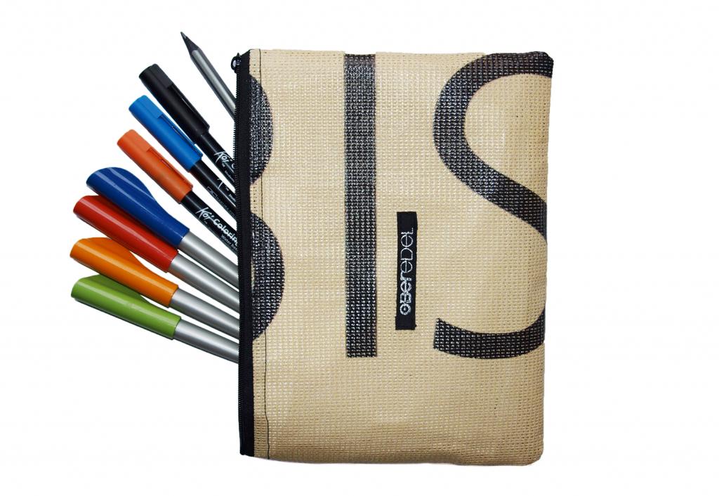 Stiftemäppchen aus Werbebanner